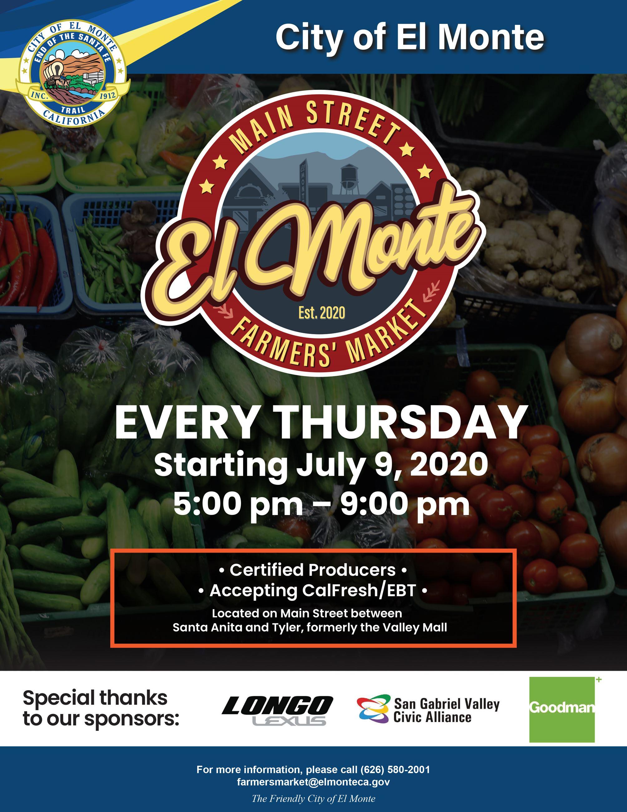 Farmers Market El Monte ascac